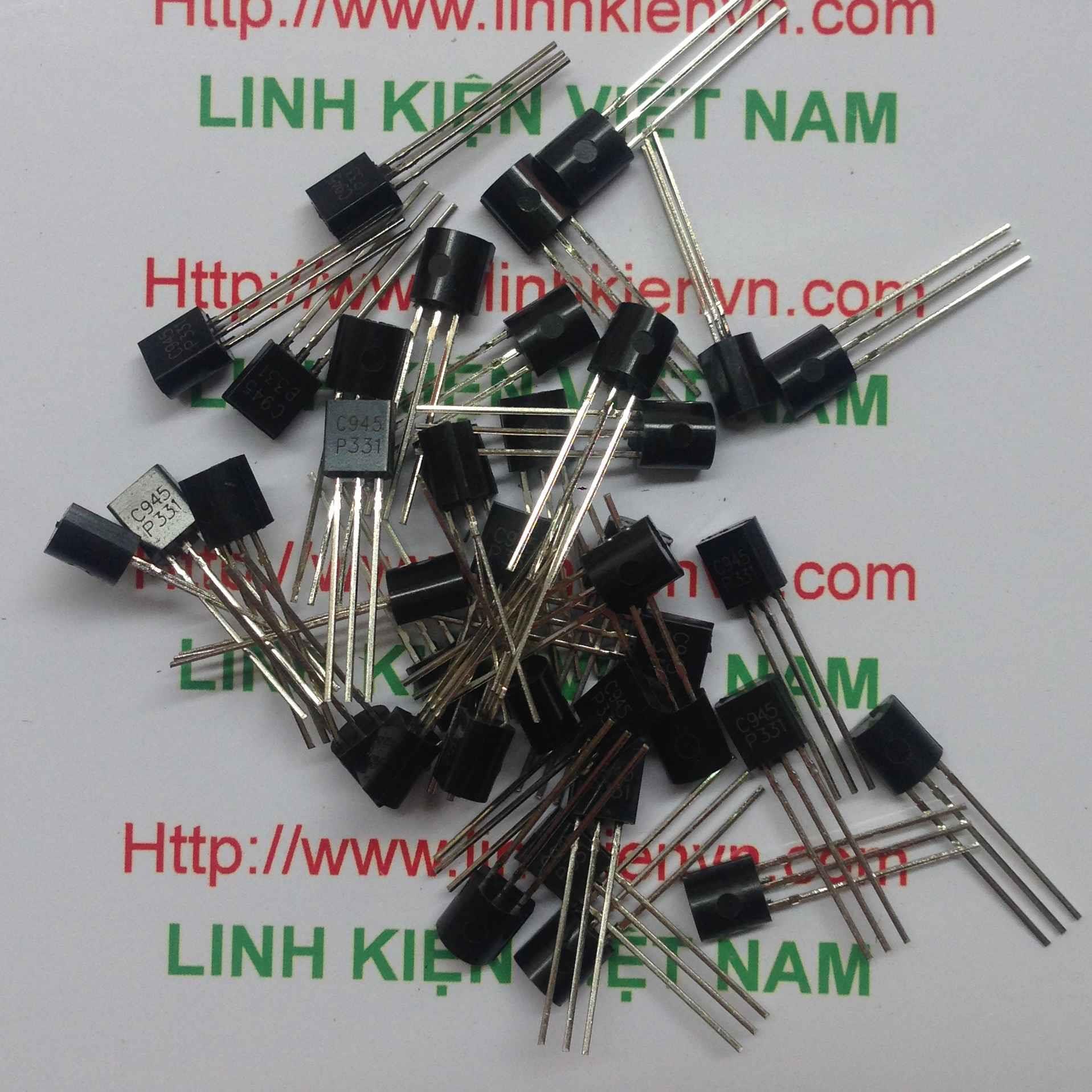 Transistor NPN C945 TO-92 150mA 60V - B8H4