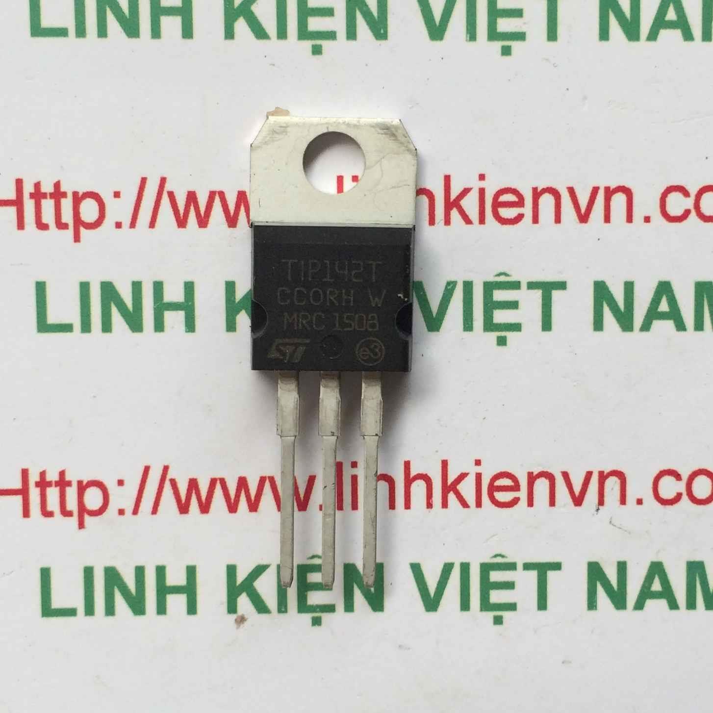 Transistor Tip142 NPN 100V 10A DARLINTON - B7H1
