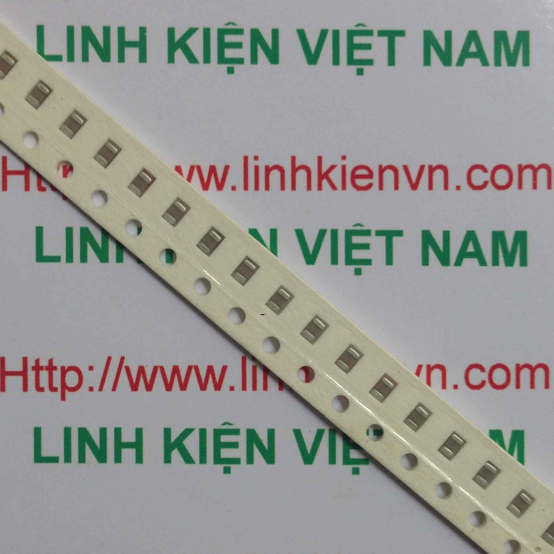 Tụ 102 - 1nF SMD 0805 10 con - KHO C