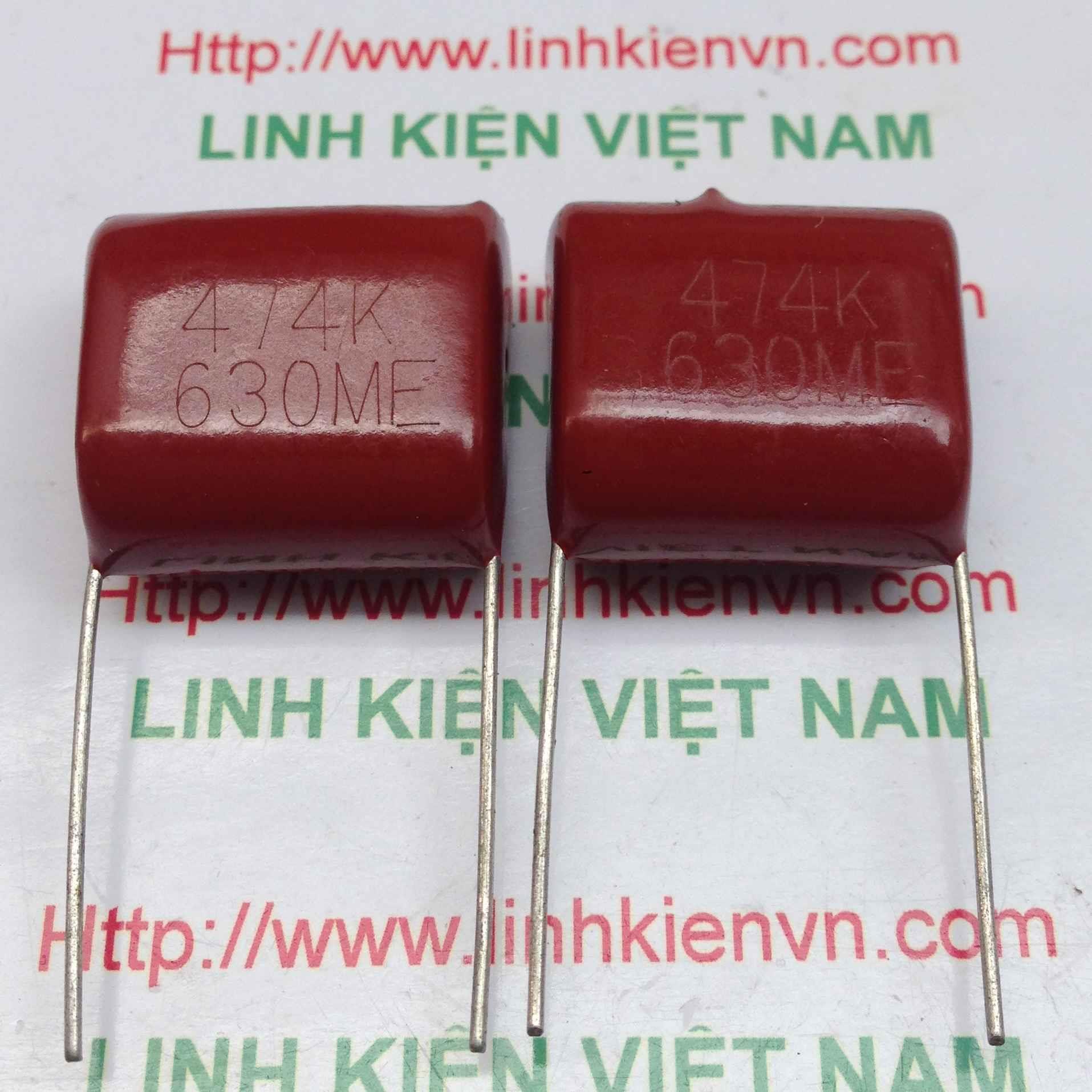 Tụ kẹo CBB 474J630V 470nF 630V - C2H3