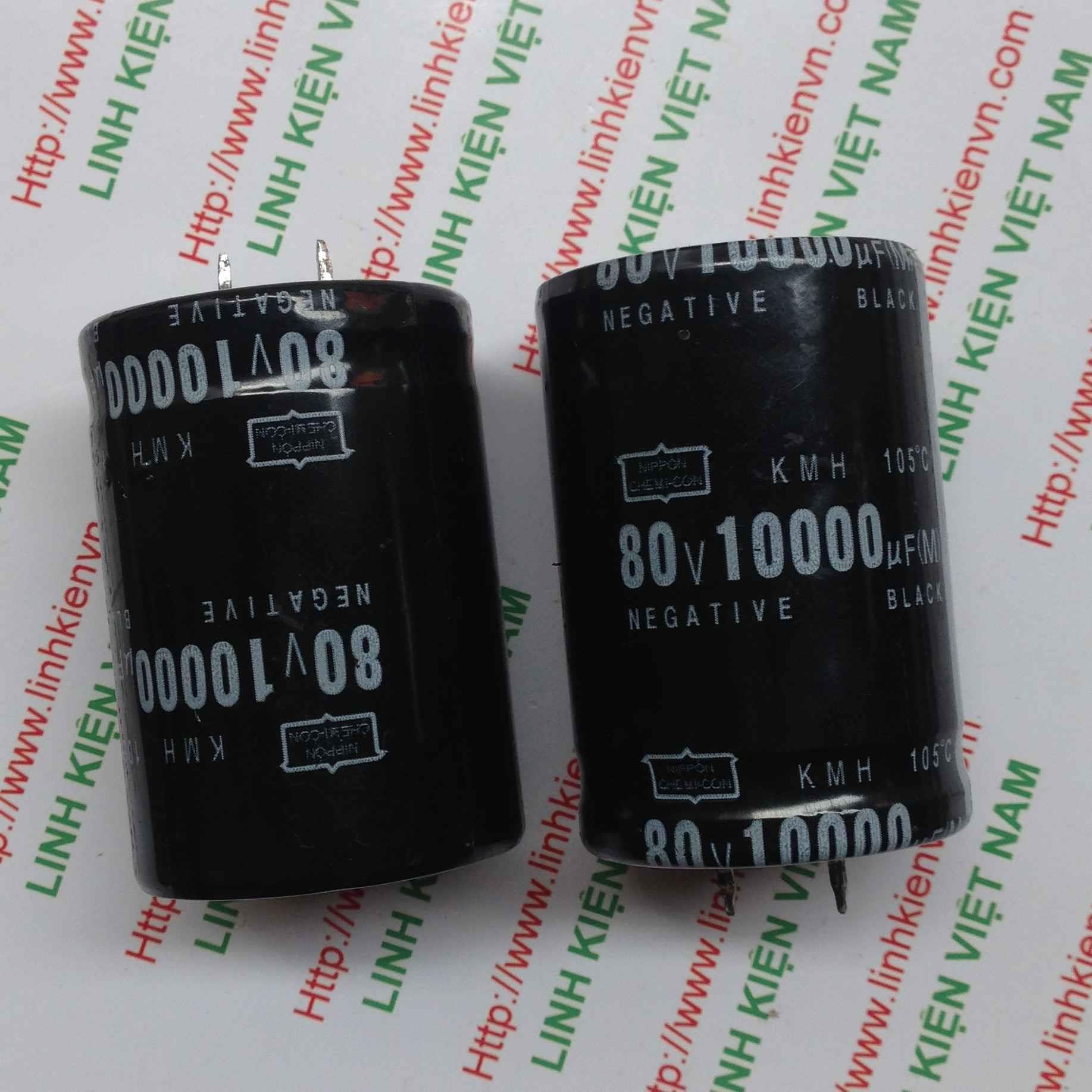 Tụ Hóa 10000uF-80V / Tụ Hóa 80V 10000uF / Tụ 10000uF 80V - A7H7