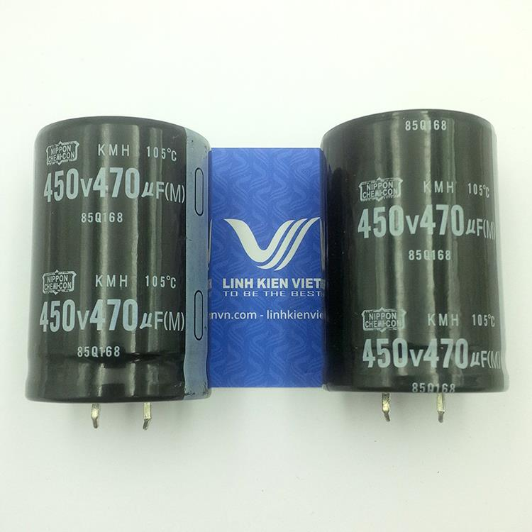 Tụ Hóa 470uF 450V loại tốt - K5H13