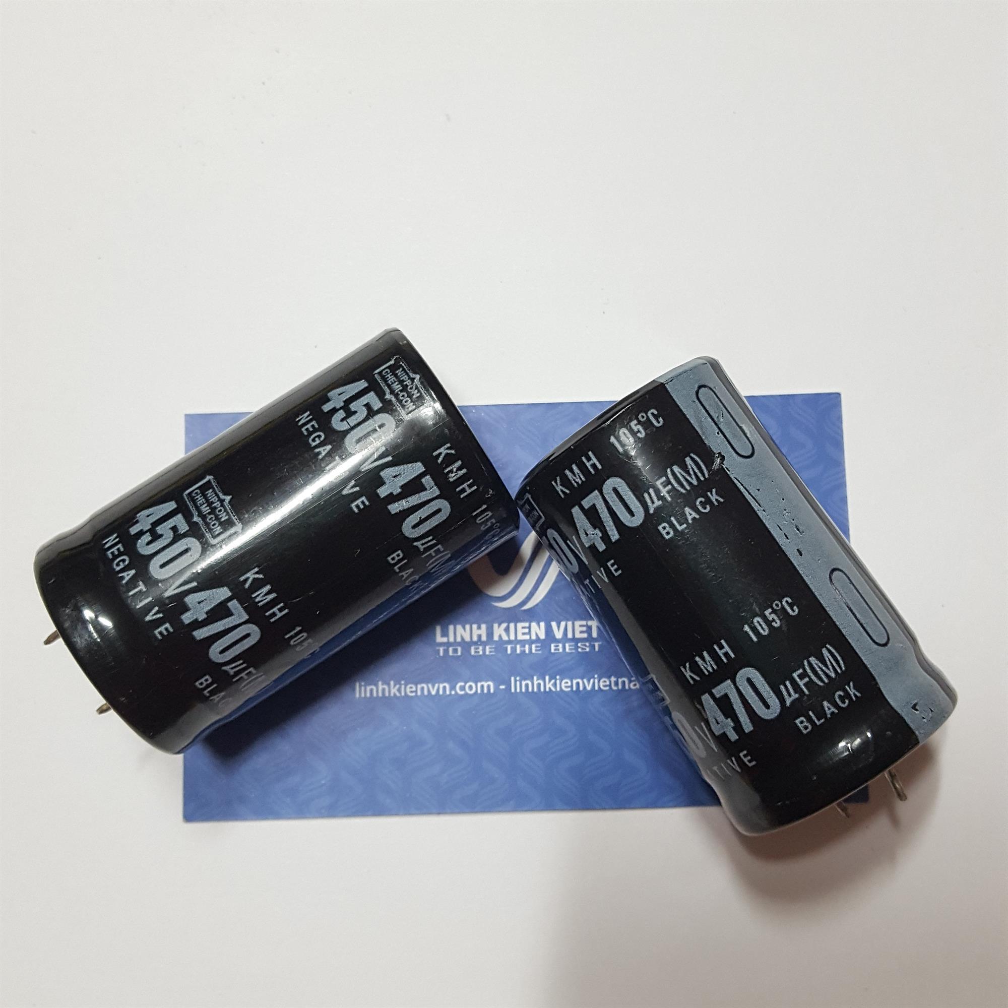 Tụ Hóa 470uF 450V - A7H15