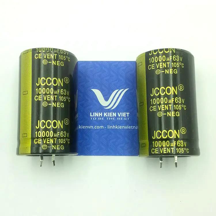 Tụ Hóa JCCON 10000uF 63V loại tốt - K5H14