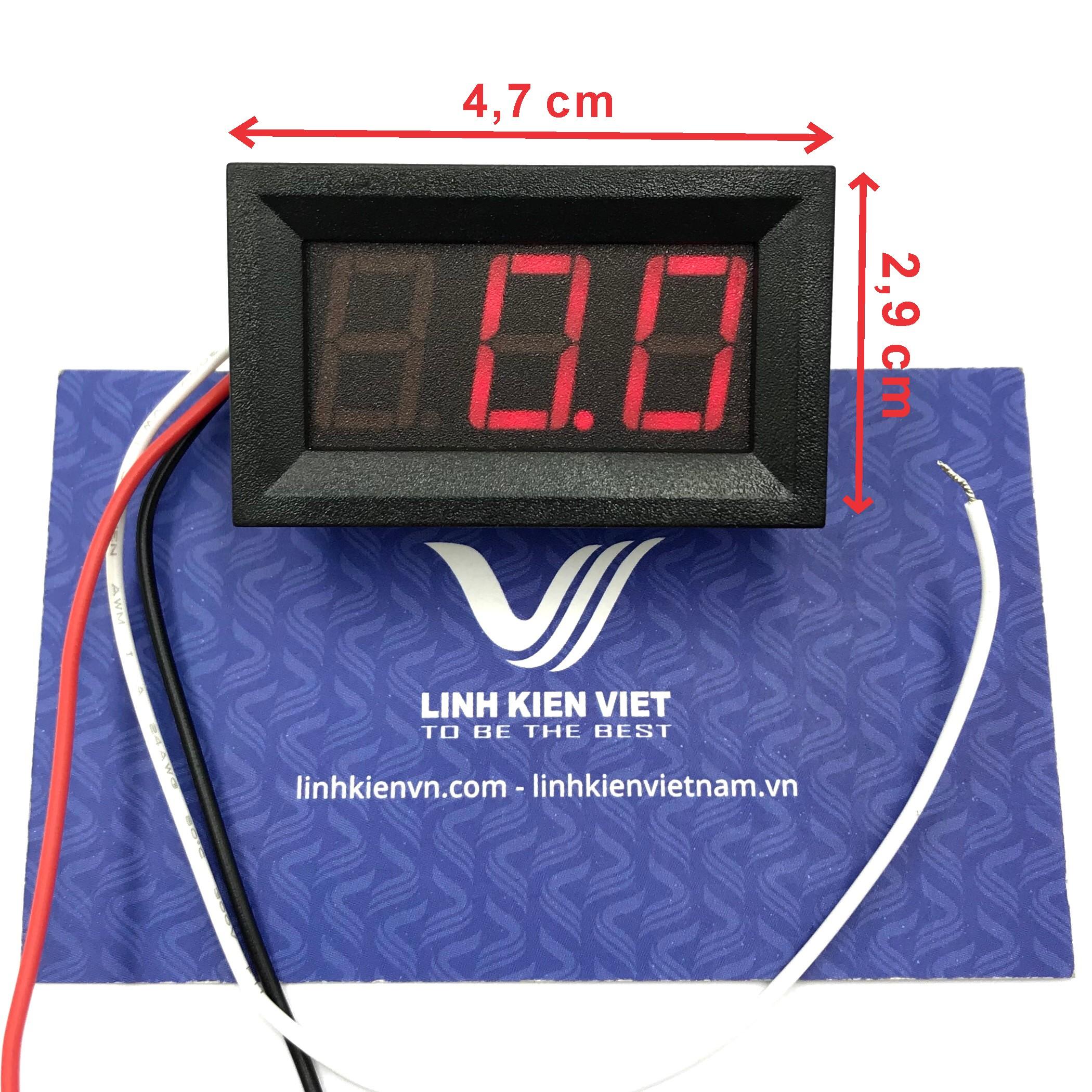 Module Đo Hiển Thị Điện Áp 0-99V bằng 3 dây V27D-3P-1.1 / S5H12