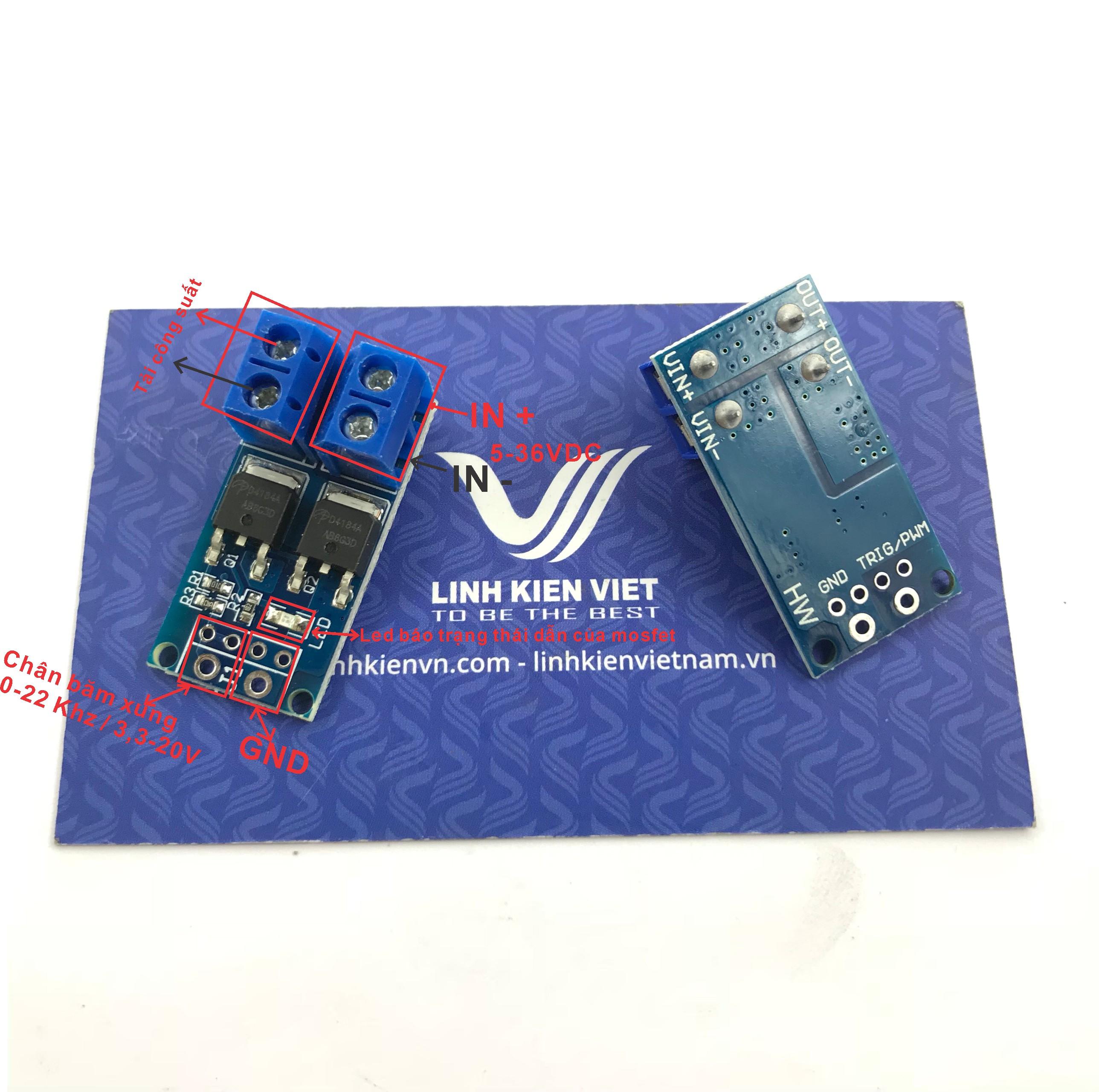 Module PWM mosfet 1 kênh 30A D4184A - X4H13