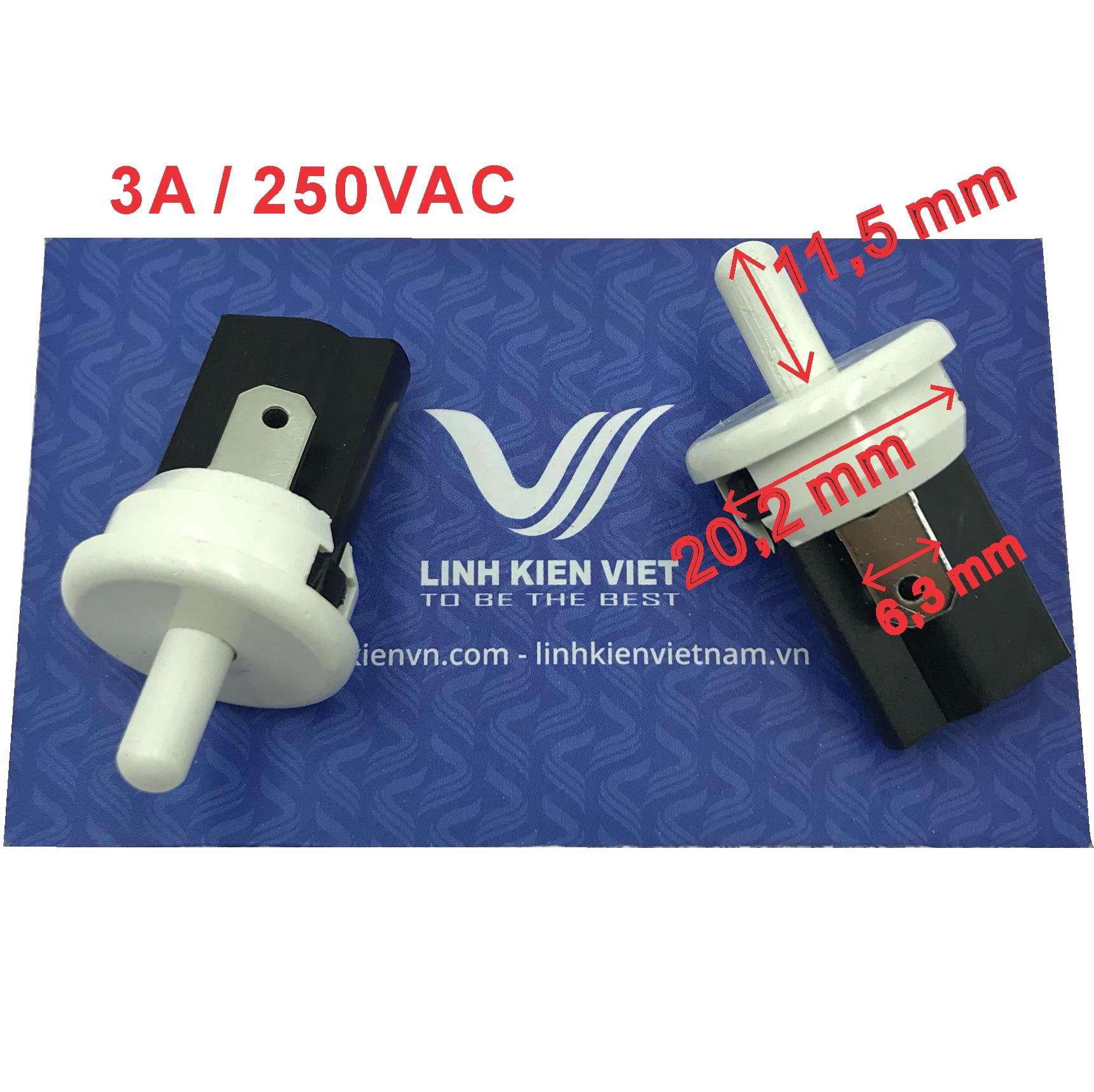 Công tắc tủ lạnh HC-056K thường đóng / Nút nhấn nhả  - X3H19