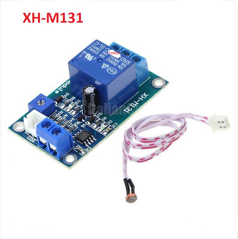 Module Điều Khiển Đóng Cắt Relay 12VDC Bằng Cảm Biến Ánh Sáng XH-M131 / I2H5