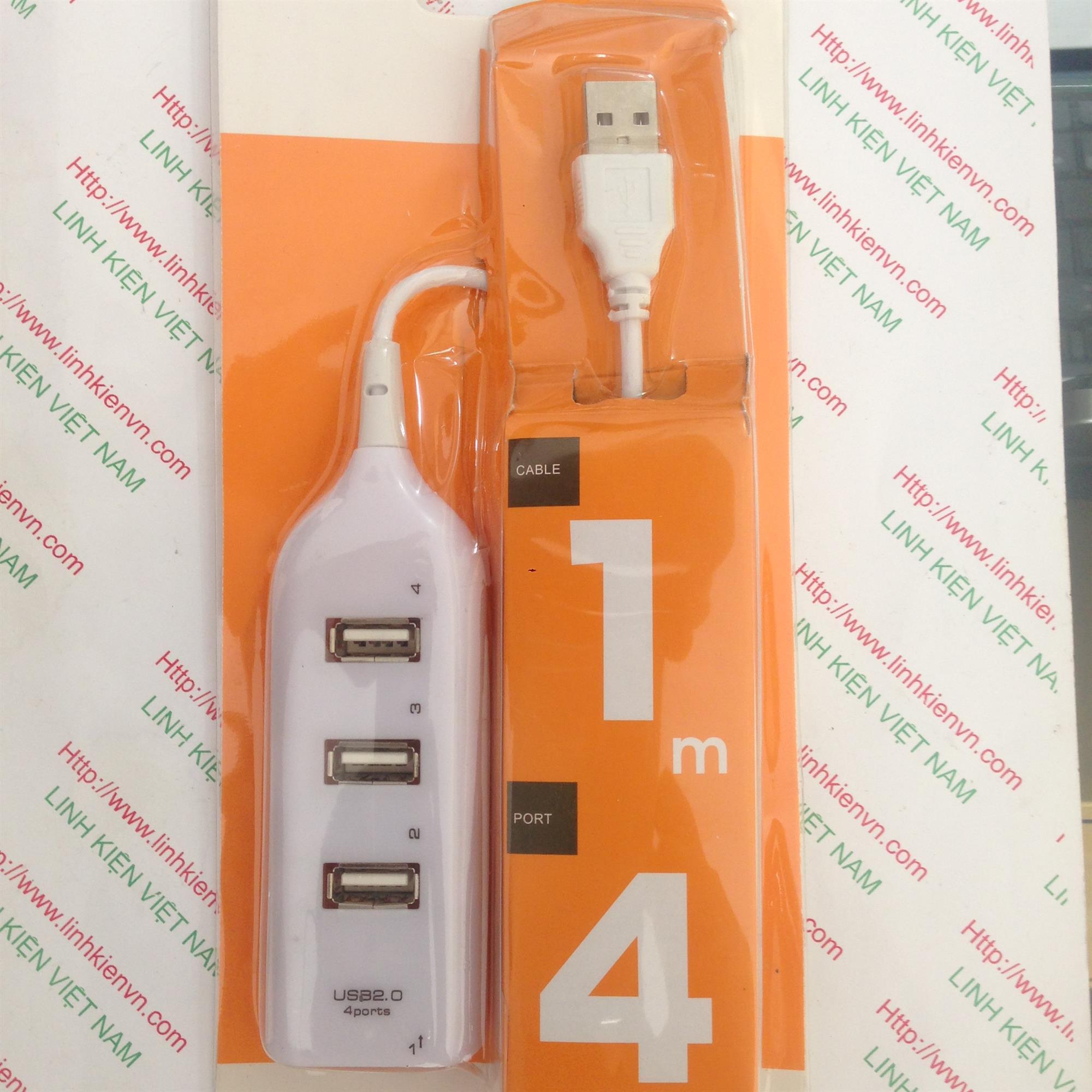 Dây USB mở rộng 1 ra 4 cổng - KB4H2