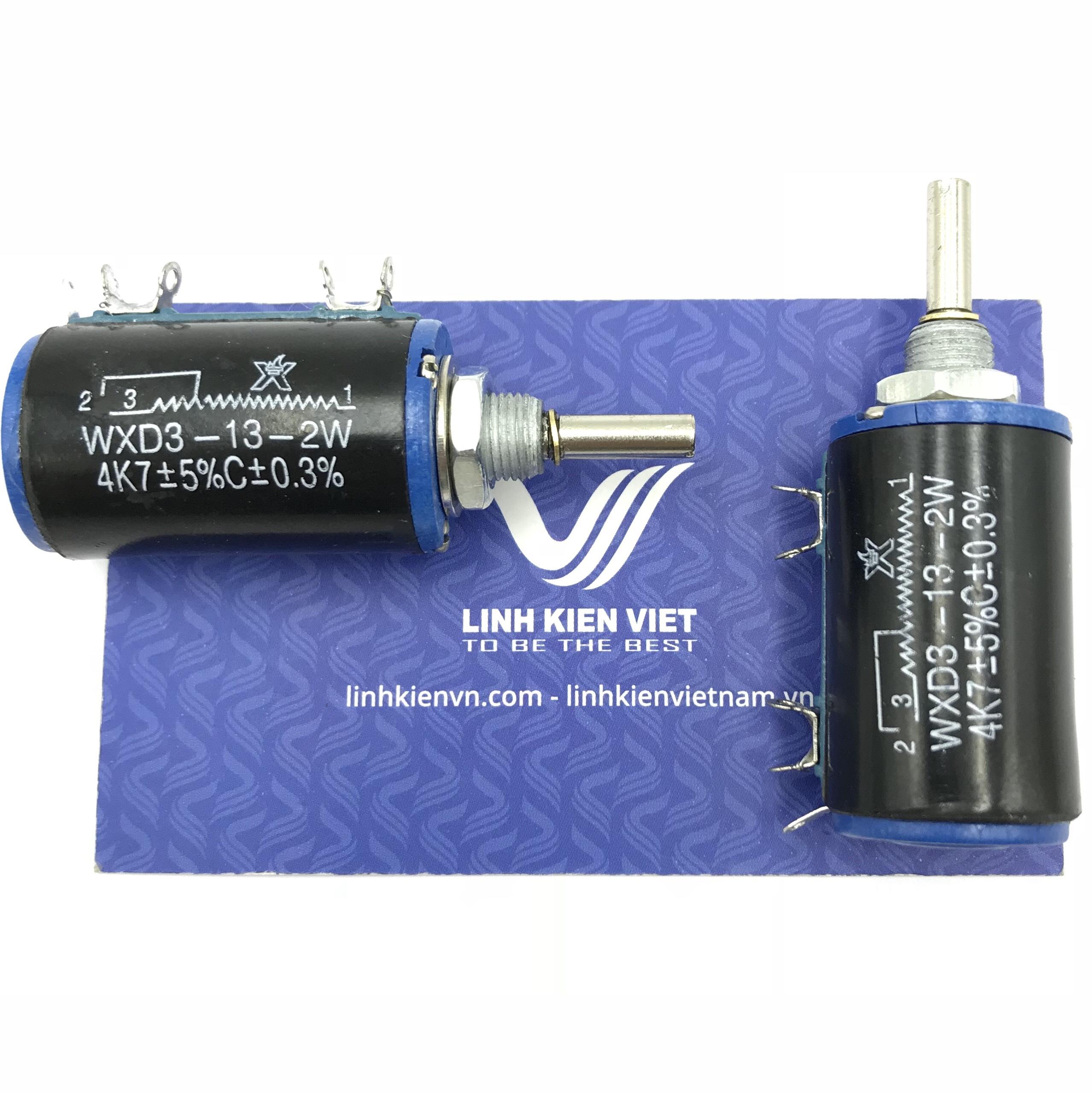 Chiết áp vi chỉnh 4K7 WXD3-13-2W / X2H16