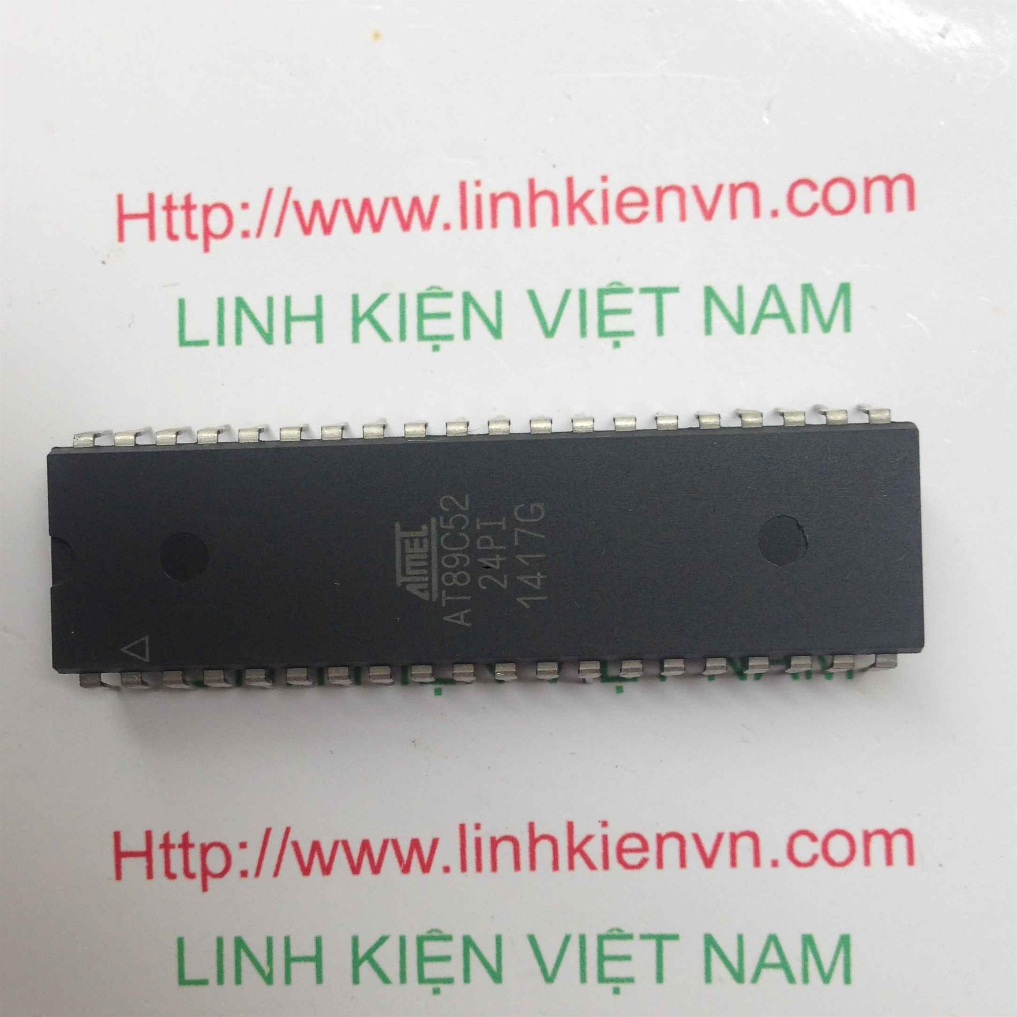 VI ĐIỀU KHIỂN AT89C52 - DIP40 - F1H1