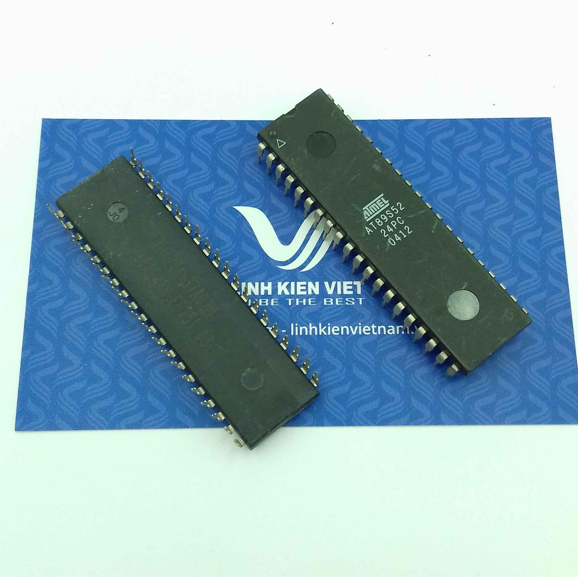 VI ĐIỀU KHIỂN MCU AT89S52 - DIP40 - F1H1