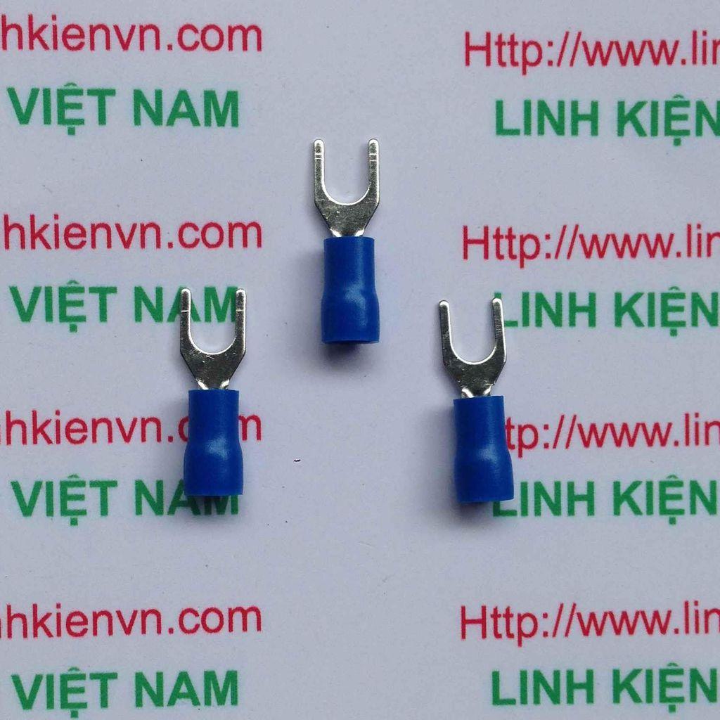 Đầu cốt chữ Y SV1.25-3S Màu xanh - 100 chiếc - X1H5
