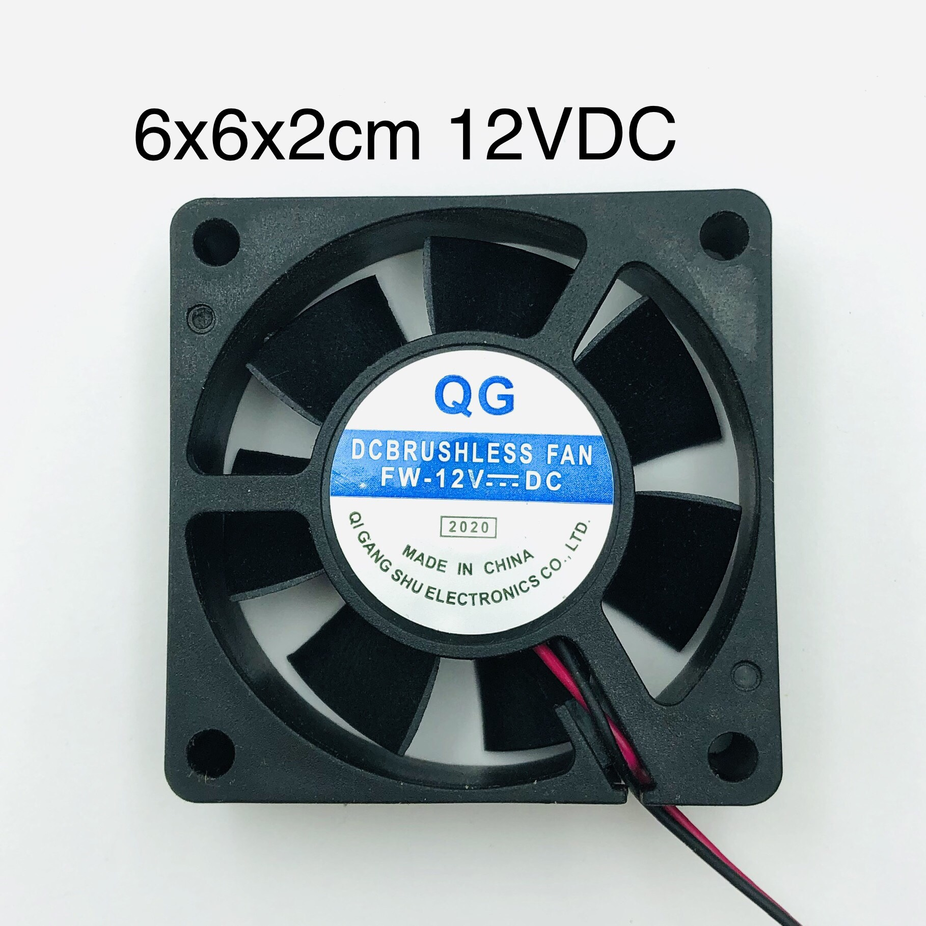 Quạt tản nhiệt 6x6x2cm 12VDC -