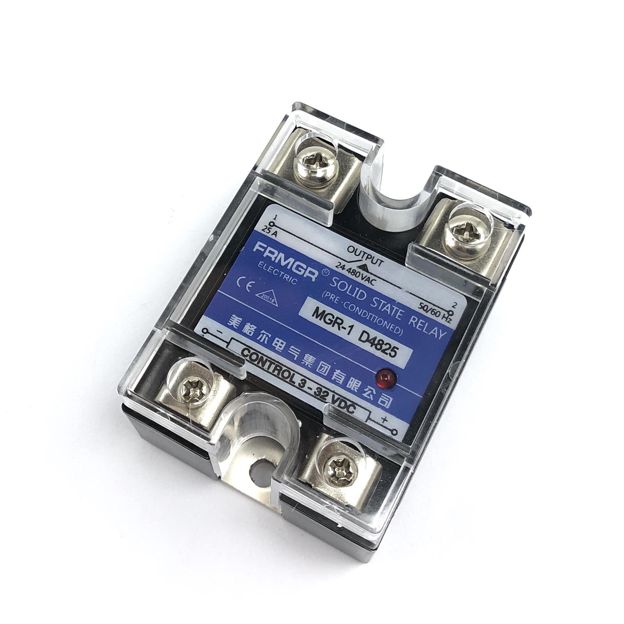 Relay bán dẫn SSR 25A MGR-1 D4825/Solid relay Mager - A10H12
