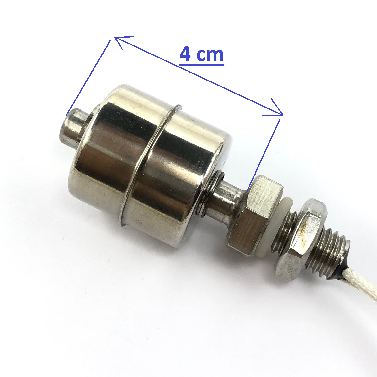 Phao cơ cảm biến mực nước một mức 4 cm - inox / G8H1