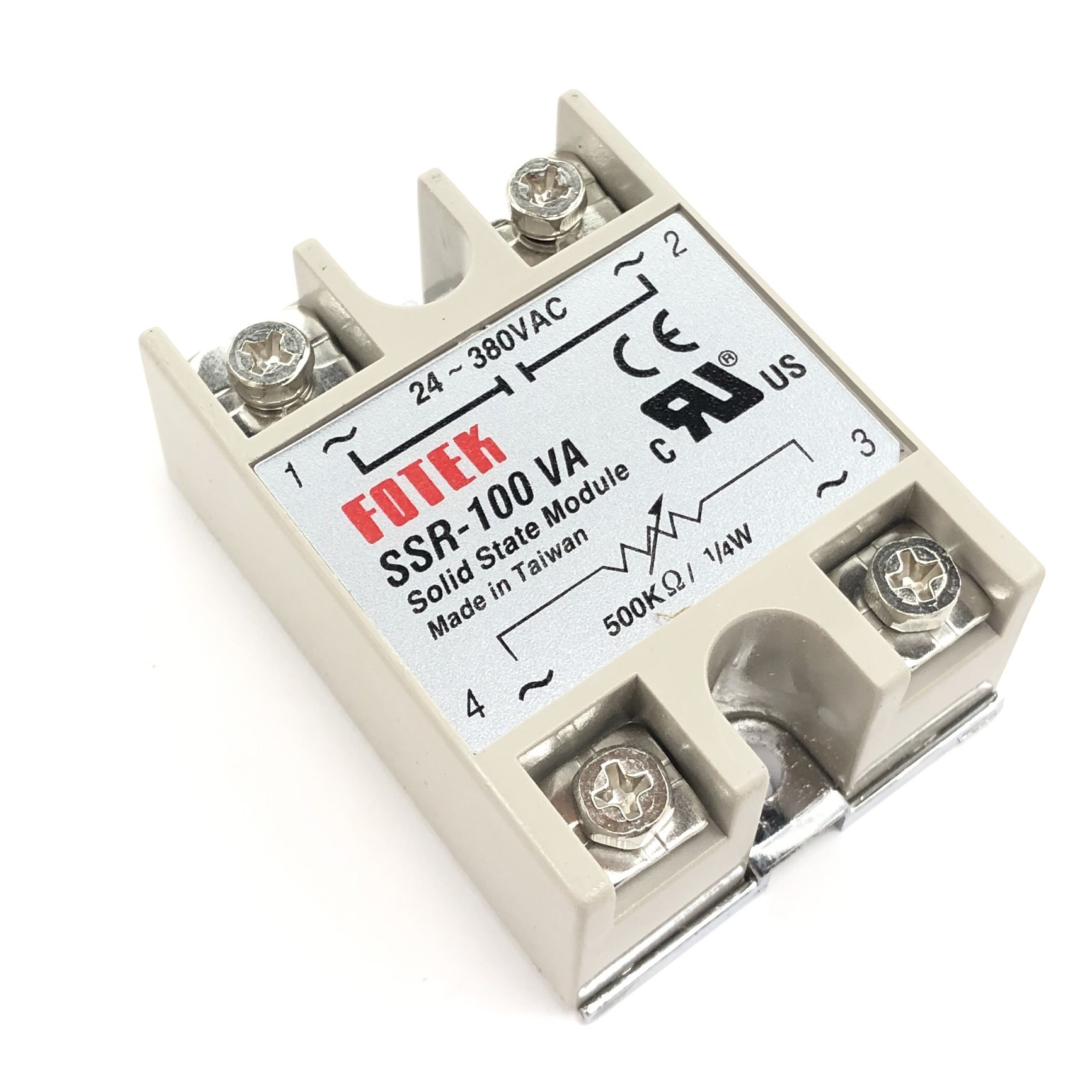 Relay bán dẫn SSR-100VA / điều khiển nồi nấu phở - A10H19