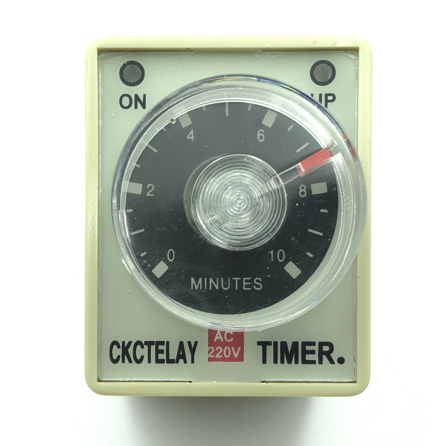 Relay thời gian CKC AH3-3 / 220VAC 10 phút - I9H25