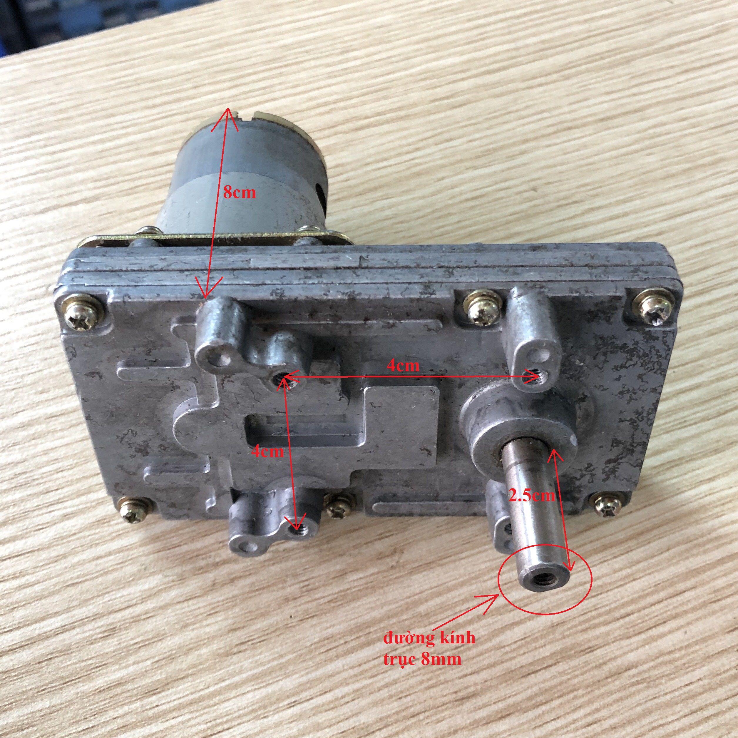 Động cơ giảm tốc tương đương Tsukasa - tháo máy