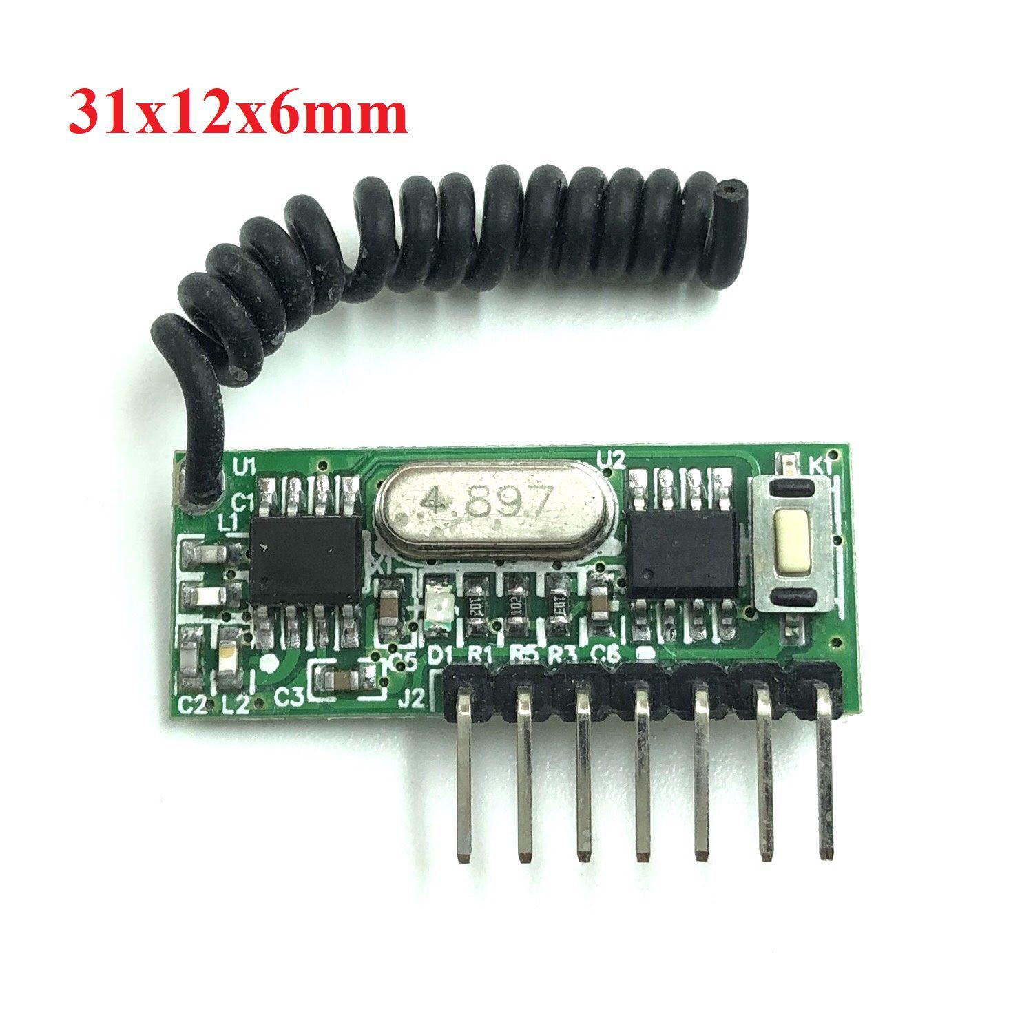 Module thu RF học lệnh 315Mhz RX480E - X2H8