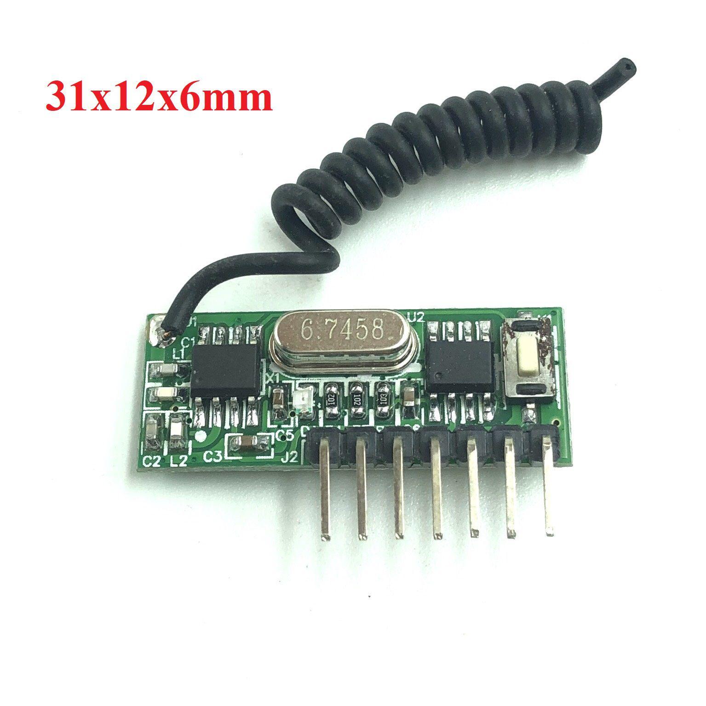 Module thu RF học lệnh 433Mhz RX480E - X1H13