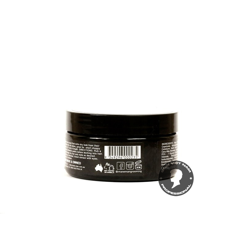 review Sáp vuốt tóc Mane-Man Ultra Matt Paste