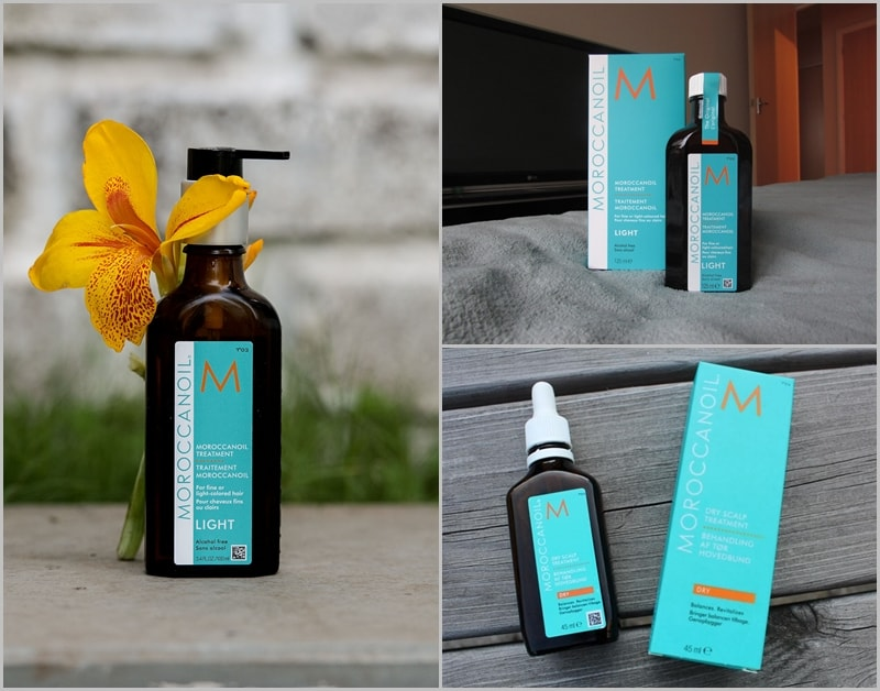 Moroccanoil Treatment Original và Treatment Light
