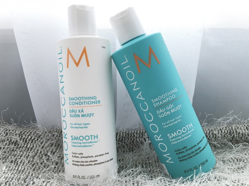 Sản phẩm dầu xả tốt nhất - Moroccanoil Smoothing Conditioner
