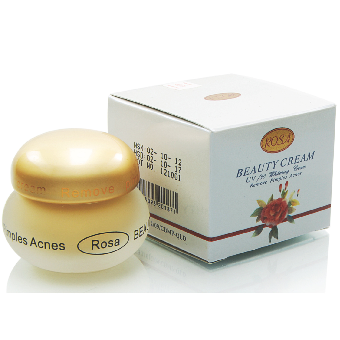 Kem dưỡng da ROSA Beauty cream UV/30 whitening cream - Mã SP: RS-001