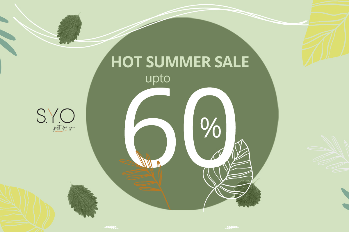 HOT SUMMER SALE - UP TO 60%