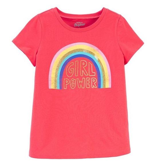 BG-Áo TN Carters/Oshkosh đỏ girl power