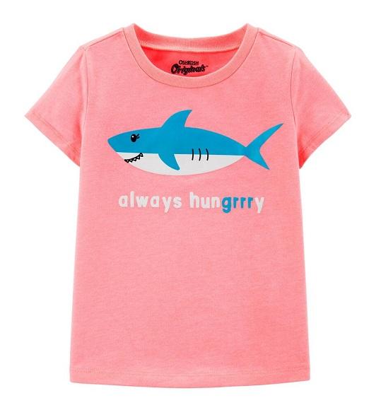 BG-Áo TN Carters/Oshkosh hồng cá