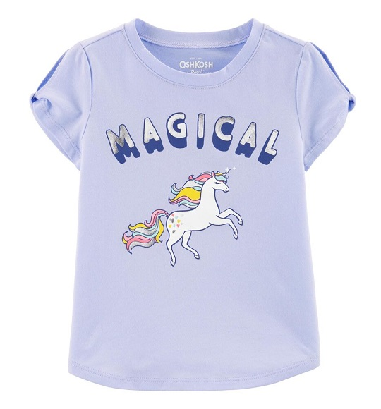 BG-Áo TN Carters/Oshkosh xanh magical