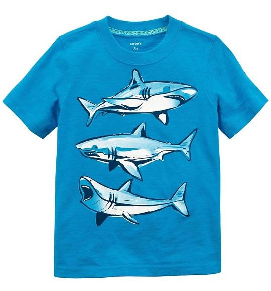 BT-Áo TN Carters xanh cá mập