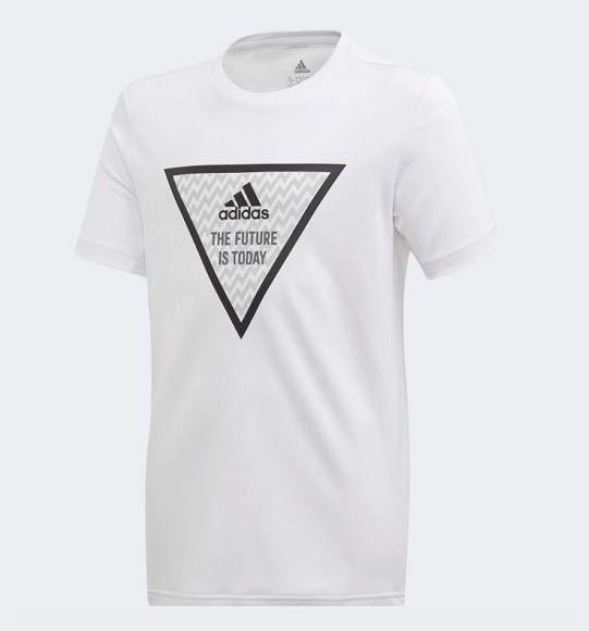 BT-Áo thun thể thao TN Adidas trắng the future