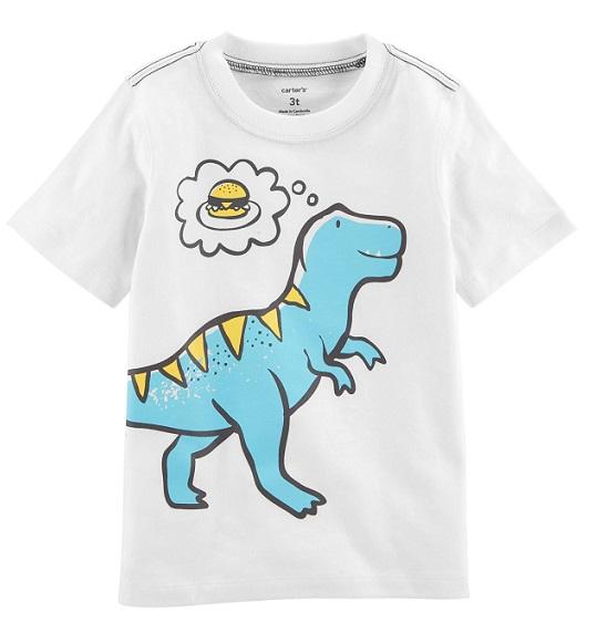 BT-Áo TN Carter trắng khủng long