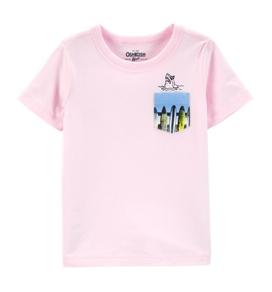BT-Áo TN Oshkosh hồng túi cá