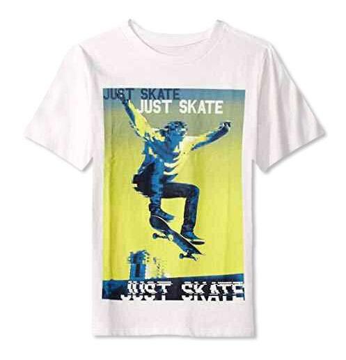 BT-Áo TN Place XS~XXL trắng just skate