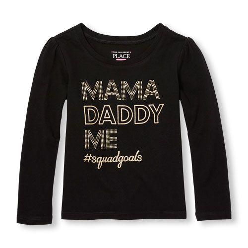 BG-Áo TD Place Đen Mama Daddy
