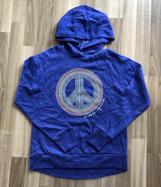 BG-Áo khoác hoodie S.O xanh hình tròn