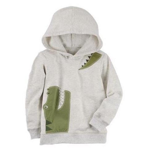 BT-Áo khoác hoodie Carter KL rêu
