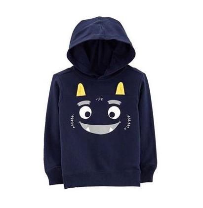 BT-Áo khoác hoodie Carter navy mặt cười