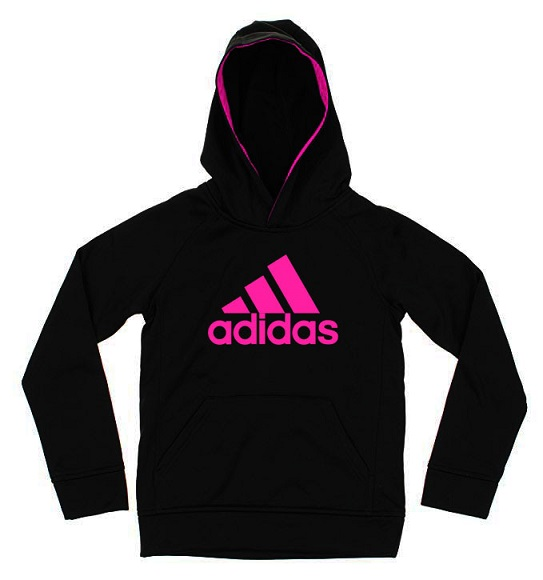 BG-Áo khoác hoodie Adidas đen