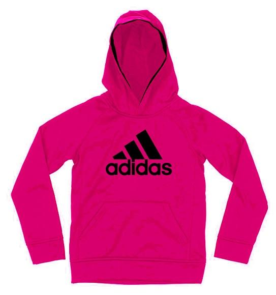 BG-Áo khoác hoodie Adidas hồng