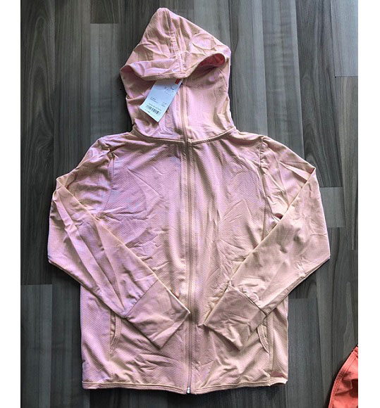 BT/BG-Áo khoác chống nắng Uniqlo hồng