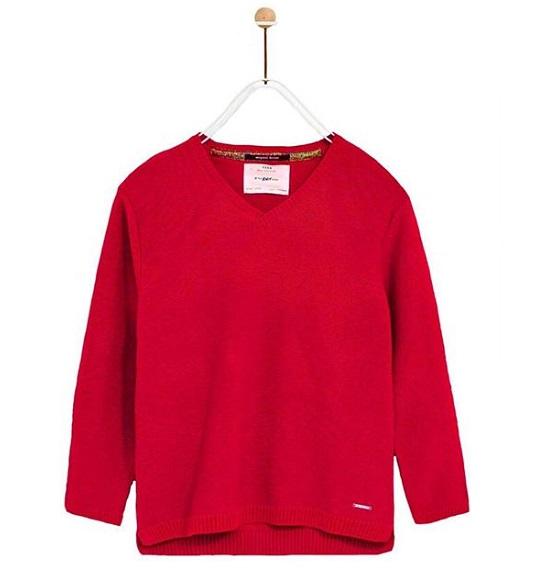 BT-Áo len TD Zara đỏ