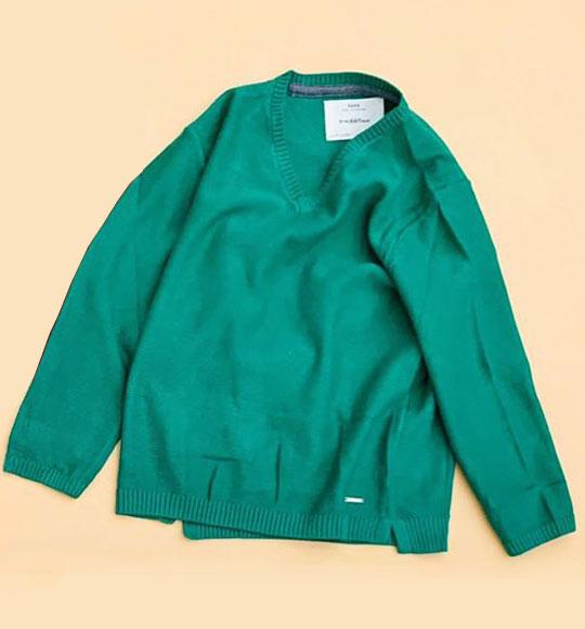 BT-Áo len TD Zara xanh lá