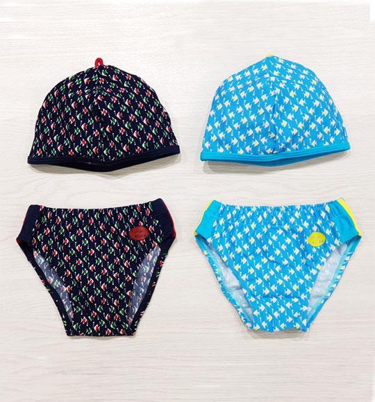 BT-Bộ bơi xuất Hàn quần + nón