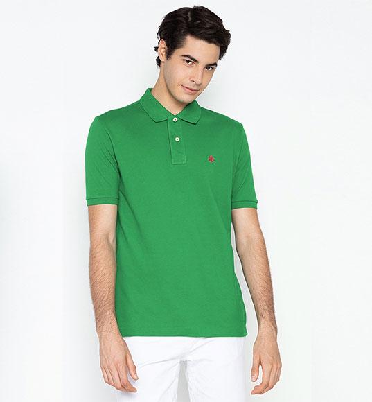 NAM-Áo Polo Springfield xanh lá
