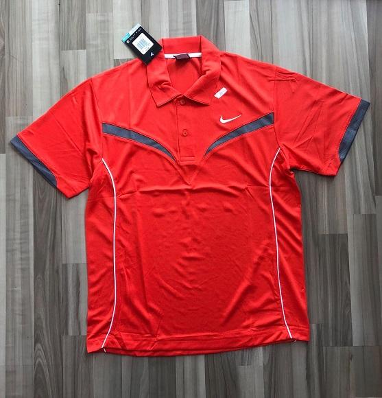 NAM-Áo Nike cam viền xám logo trắng
